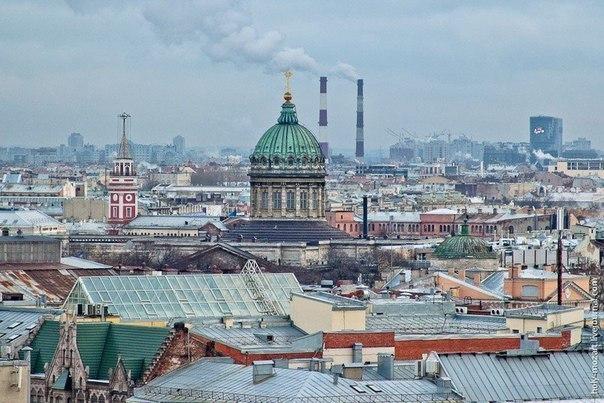 6 смотровых площадок Санкт-Петербурга