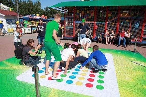 Спортивный праздник в парке аттракционов Планета Лета