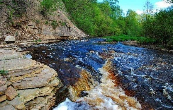 Каньон реки Лавы