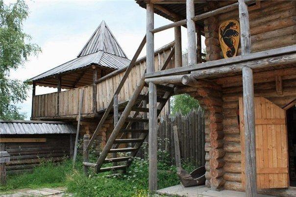 Деревня викингов под Выборгом