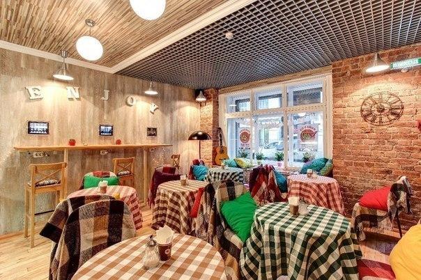 Топ-8 неординарных кафе и ресторанов Петербурга