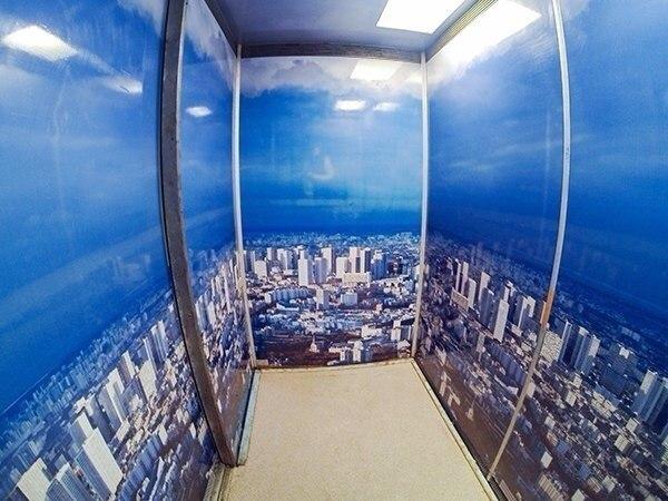 Несколько петербургских лифтов превратили в арт-объекты
