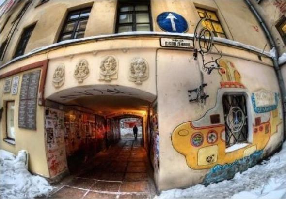 Несуществующие улицы и тайные места Петербурга