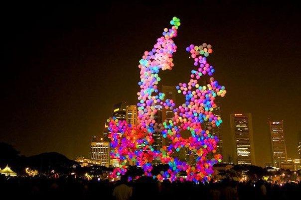 Новогодний Праздник Светошариков