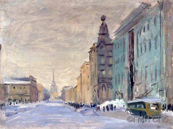 Лекция об искусстве в блокадном Ленинграде
