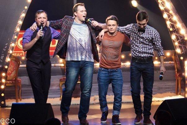 Зимний концерт трио Смирнов, Иванов, Соболев
