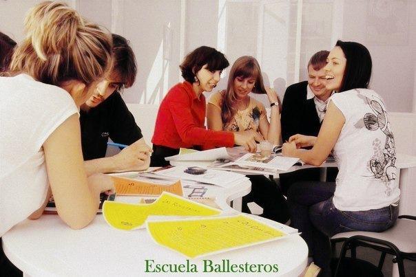 Открытый урок в школе испанского языка Escuela Ballesteros