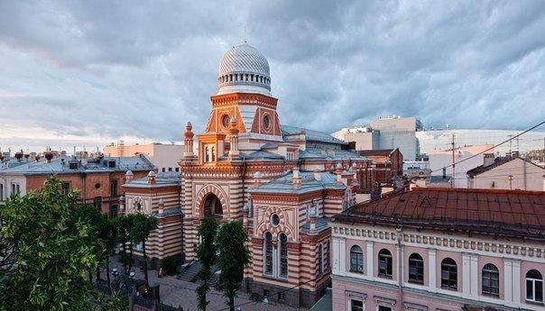 День открытых дверей в петербургской Синагоге!