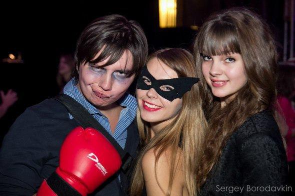 Halloween в Свободном пространстве Типичный Питер