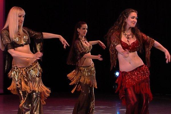 Открытый урок по belly dance для начинающих
