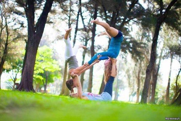 Бесплатное занятие по акробатике