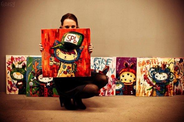 II Персональная выставка FLOKSY «Deep Into My Soul»