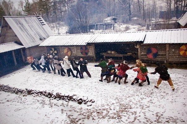 Новое Солнце былинной Руси» - детский новогодний праздник.