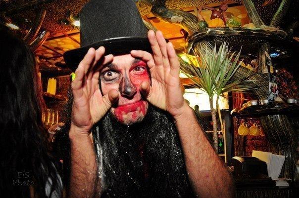 Halloween в Forrest Cafe