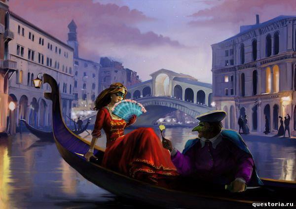 Романтический живой квест Тайны Венеции на День Валентина