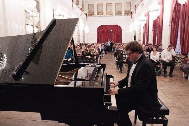 Сонаты Бетховена - сольный концерт Владимира Беломестных