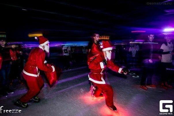Олимпийская новогодняя Вечеринка в СКА