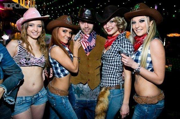 Ковбойская вечеринка в Route 148