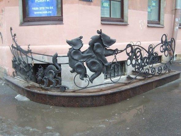 Экскурсия Молчаливые жители Петербурга
