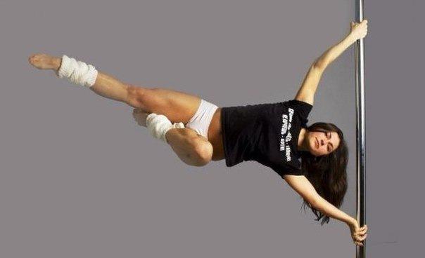 Открытый урок Pole Dance