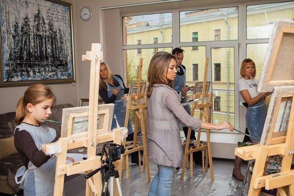 Мастер-классы по живописи от Яны Иванчиной