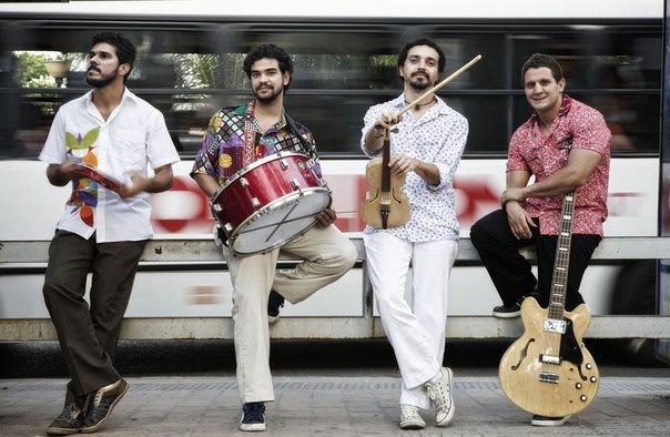 Концерт бразильской группы «Quarteto Olinda»
