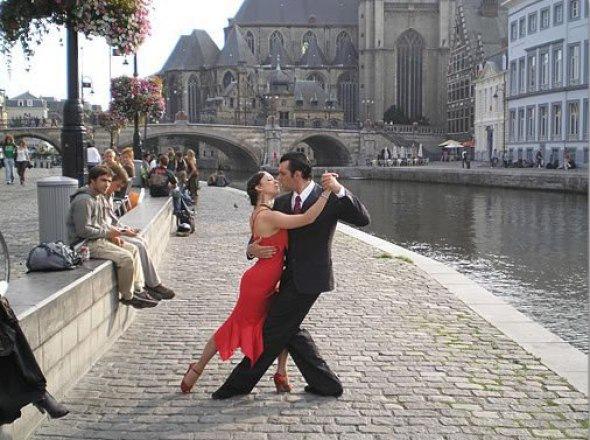 Открытый урок по Аргентинскому Танго для начинающих