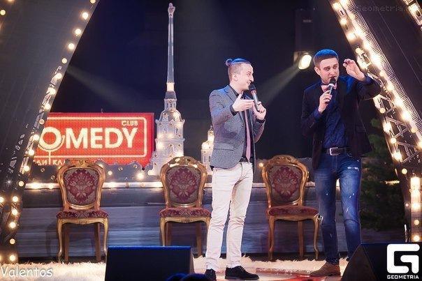 Весеннее настроение придет с Comedy Petersburg