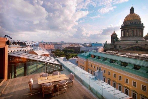 Взгляд на Петербург с высоты птичьего полета