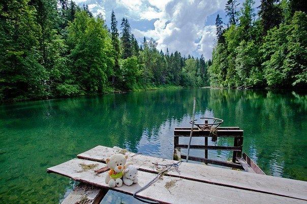 Радоновые озёра в Ленинградской области
