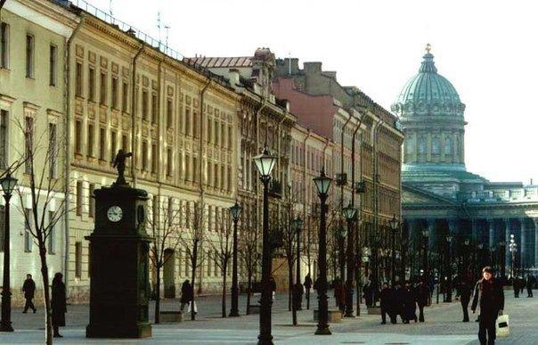 6 пешеходных улиц Санкт-Петербурга