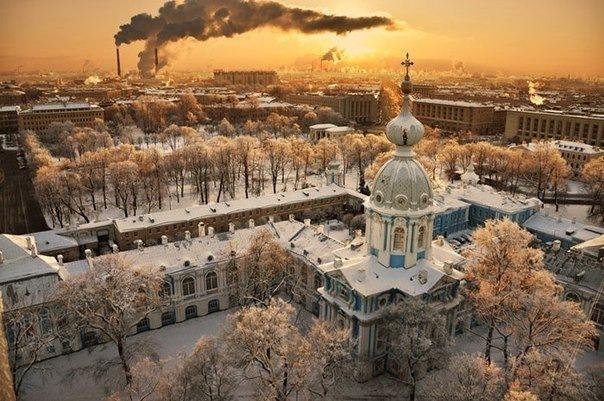 Санкт-Петербург и Ленобласть с высоты птичьего полета