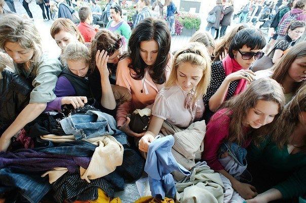 Блошиные рынки Петербурга