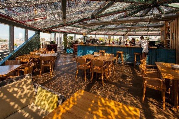 Рестораны на Петербургских крышах