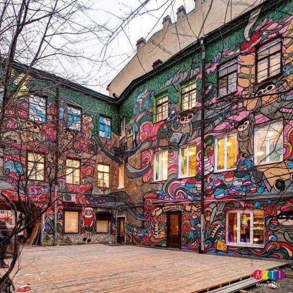 В Петербурге появится еще один необычный дворик