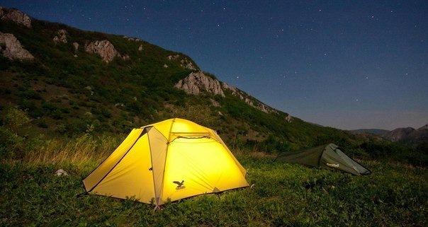 В поход с палатками: куда отправиться и что посмотреть