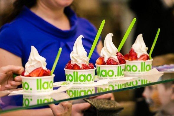 Где в Петербурге попробовать замороженный йогурт