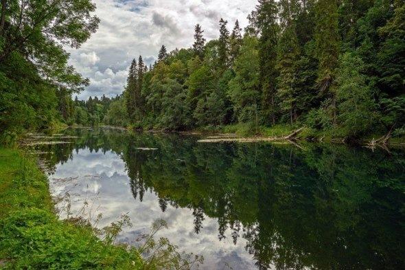 Хорошие озера под Петербургом