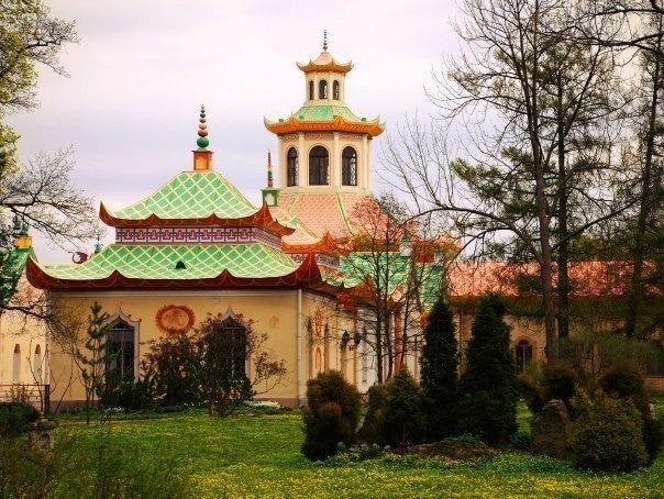Китайские места в Петербурге