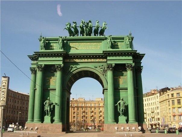 Триумфальные арки и ворота Петербурга