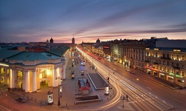 Топ-20 мест на Невском