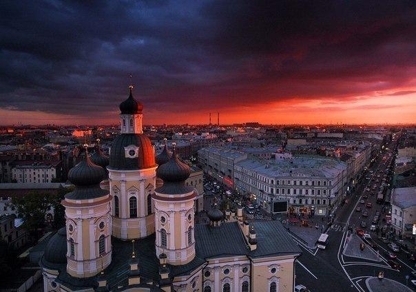 Маршрут вокруг станций Владимирская-Достоевская