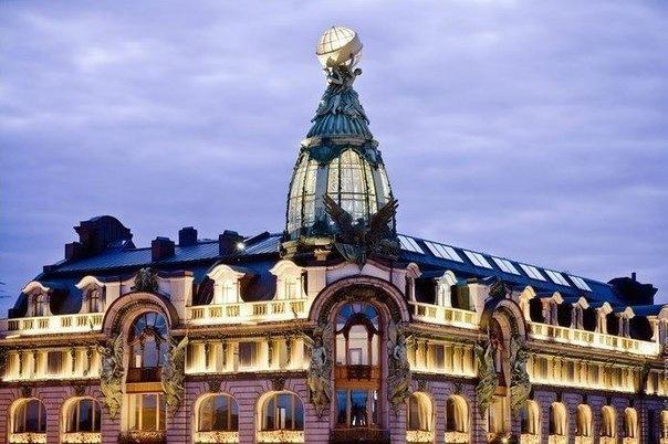Топ-10 крыш Петербурга