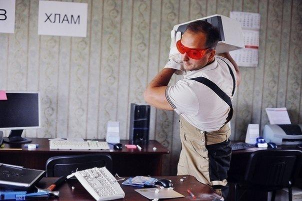 7 мест в Петербурге, где можно выместить свой гнев
