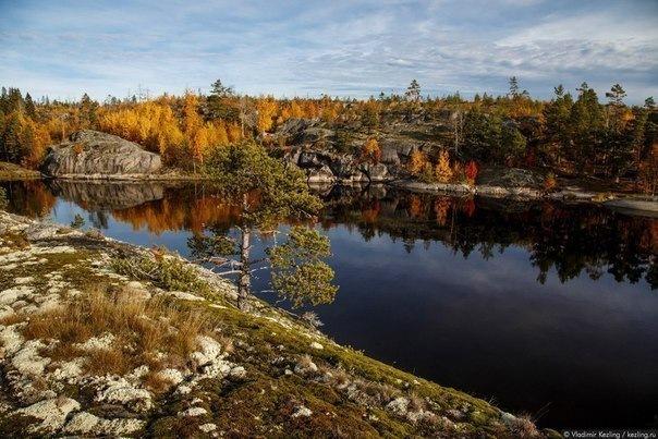 Чудеса природы под Петербургом : Ладожские шхеры