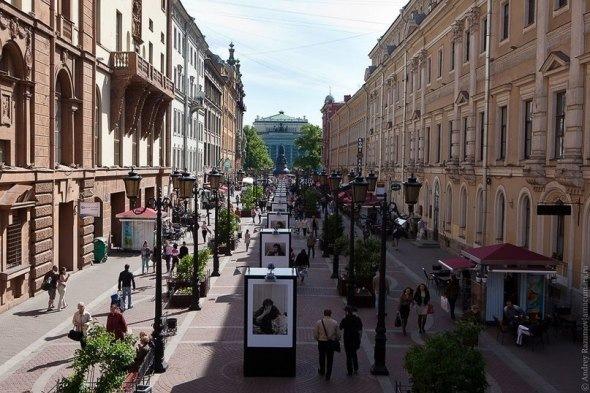 Пешеходные улицы Петербурга и их достопримечательности