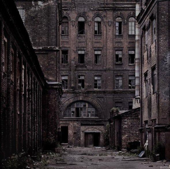 Заброшенные заводы Петербурга
