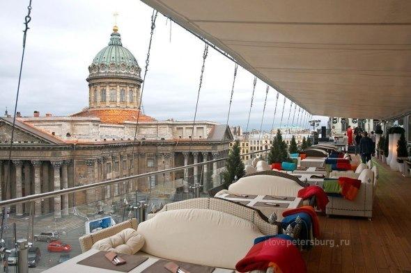 Панорамные рестораны Петербурга