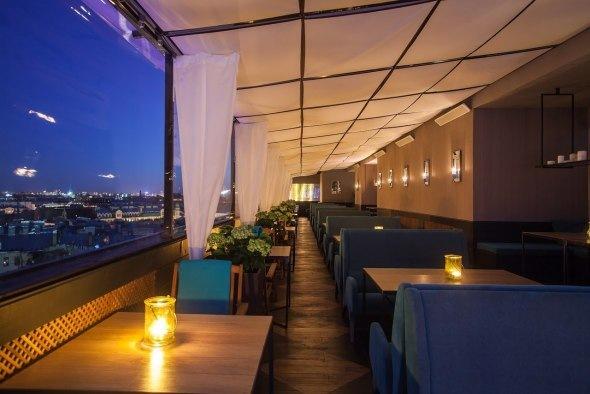 Панорамный ресторан Sky Terrace