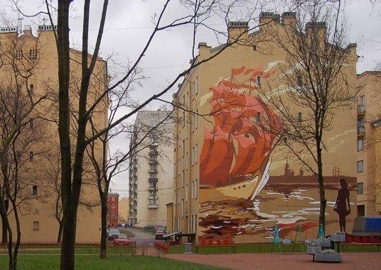 Ассоль в Петербурге